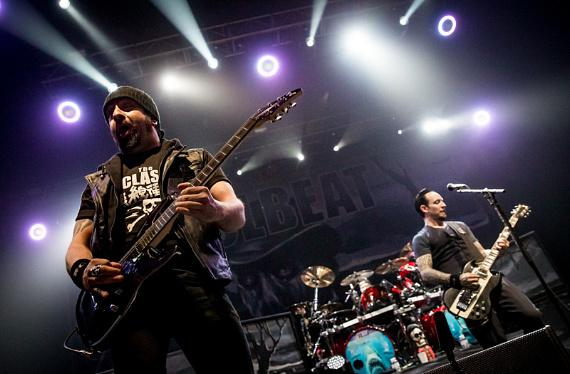 Photo Gallery: Volbeat performs at The Joint at Hard Rock Hotel & Casino in Las vegas