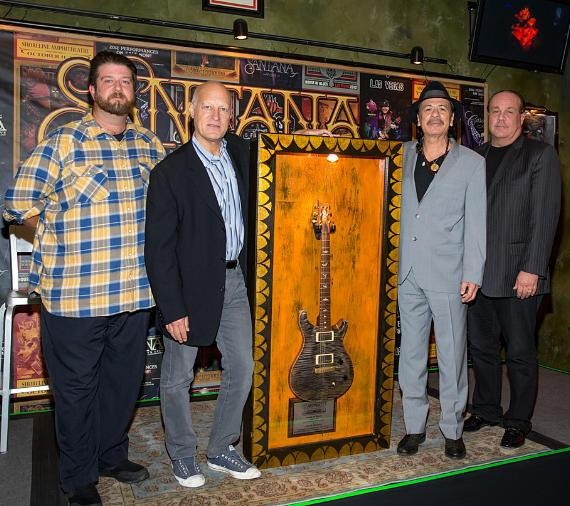Santana Celebrates 100,000th ticket sold to