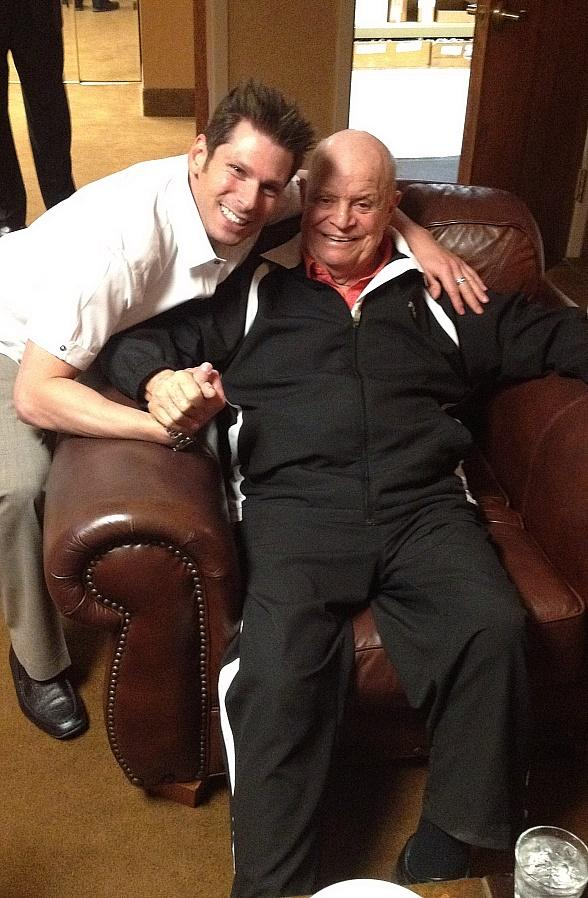 Comedy Magician Mike Hammer with King of Insults Don Rickles