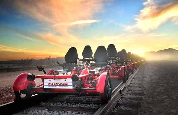 Rail Explorers, Pedal-Powered Rail Bike Experience Minutes from Las Vegas, Announces 2019 Opening