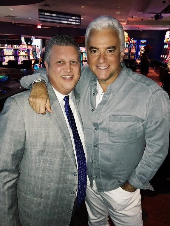 Actor John O'Hurley visits the D Las Vegas