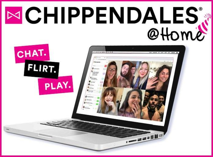 """From Sin City to Your Home, The World-Famous Chippendales to Launch """"Chippendales@Home,"""" A New, Interactive Virtual Experience"""