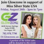 Join Glowzone in support of Miss Silver State USA