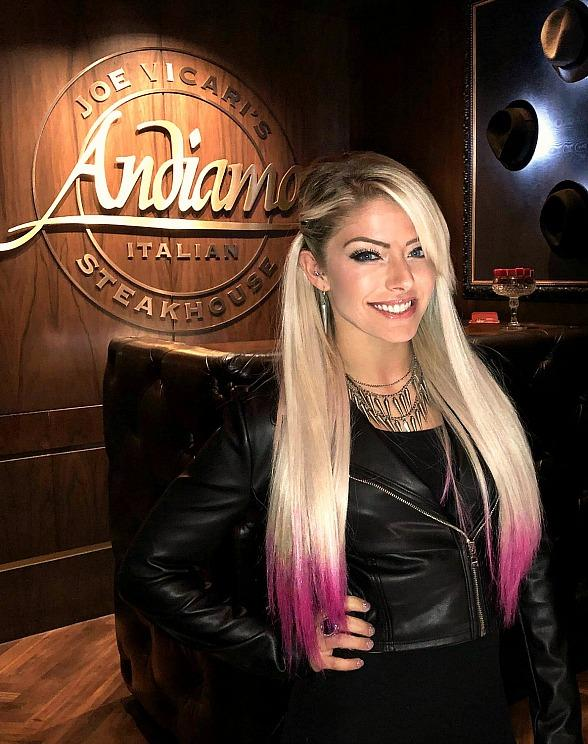 WWE Superstars, Alexa Bliss, Kalisto and Wife Lady Lucha, Revisit the D Las Vegas
