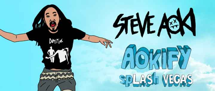 Steve Aoki Wet Republic