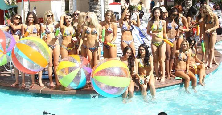Best Vegas Pool Parties 2013