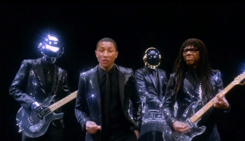Daft Punk and Pharell Las Vegas
