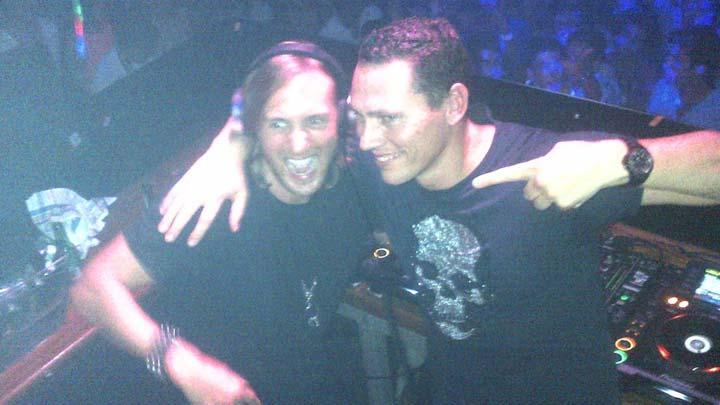 David Guetta and Tiesto Las Vegas