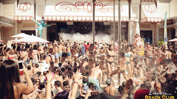 Encore Beach Club EDC Weekend Events 2014