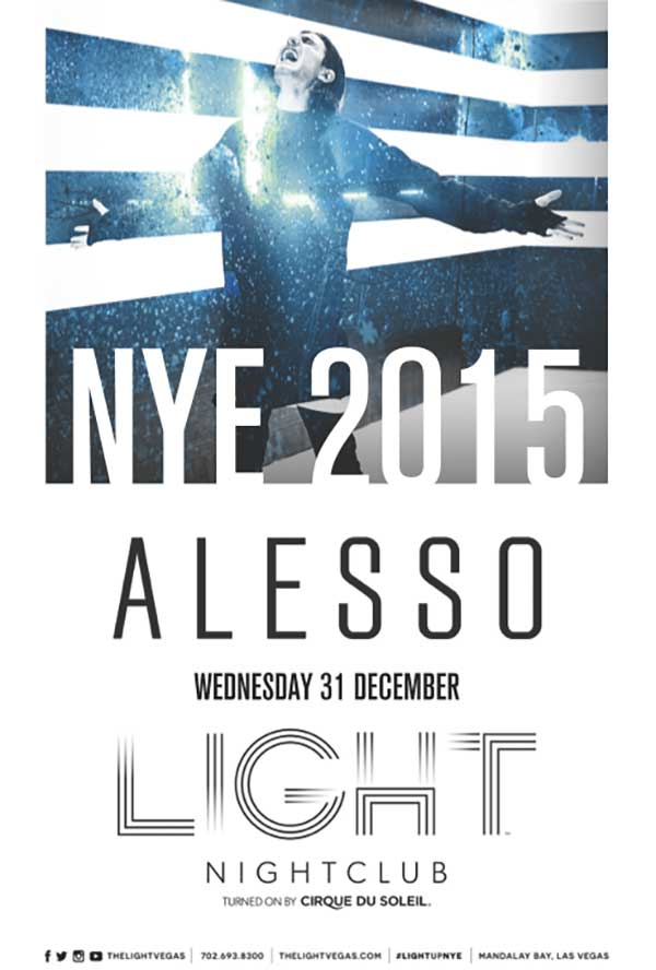 Alesso New Year's Eve Light Nightclub