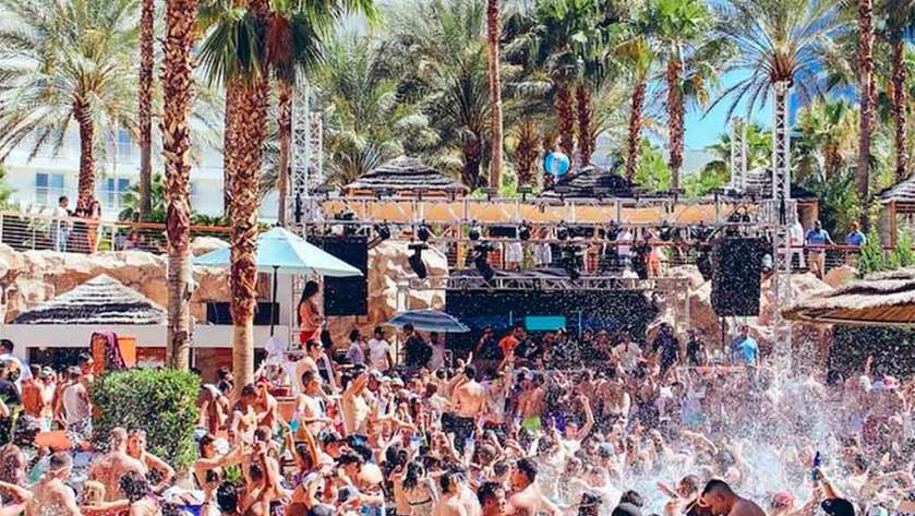 Rehab Pool Party Opening