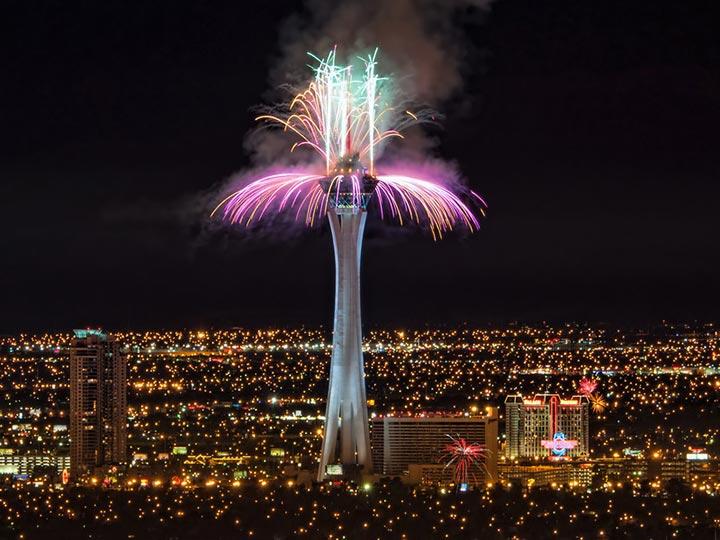 Las Vegas New Year's Eve 2015