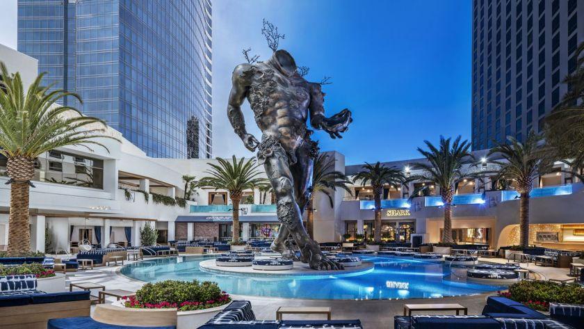 Kaos Dayclub Pool at Palms Resort Las Vegas