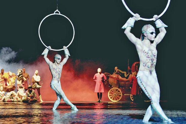 Cirque du Soleil, a Las Vegas Strip staple