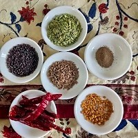 whole spices for achar