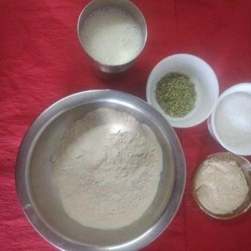 ingredients for gulgule recipe