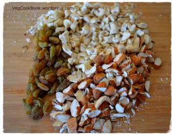 Chopped dry fruits & nuts