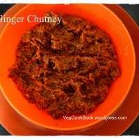 Ginger Chutney / Allam Pachchadi