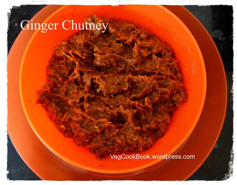 ginger chutney allam pachadi