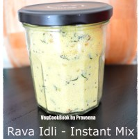 Instant Rava Idli Mix (Storage Friendly)