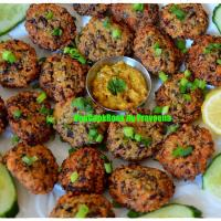 Red Kidney Beans Nuggets / Rajma - Masala Vada / Fritters