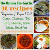 No Onion - No Garlic Recipes