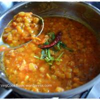 Tomato Dal / Lentil Stew / Tomato Pappu