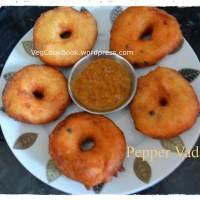Miriyam Garelu / Peppery Lentil Fritters