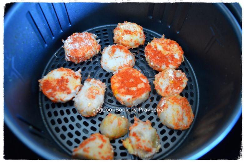 chamadumpa / arbi fry