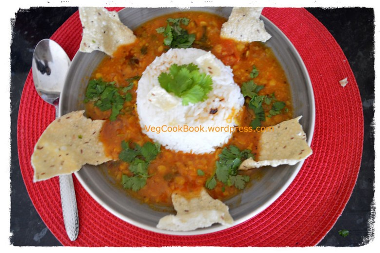 Pappu pulusu / indian spicy lentil soup.One pot, quick, easy, on stove top.INSTANT POT pressure cooker. food for relief with fever or cold.