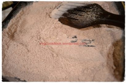 Ragi / Millet flour after roast