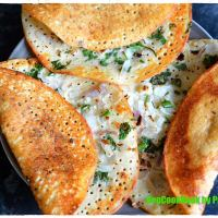 Tri-Dal Uthappam / Tri-Lentil Savoury Pancakes (No Grain) (Keto)