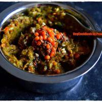 Green Chilli Chutney / Mirchi Pachchadi