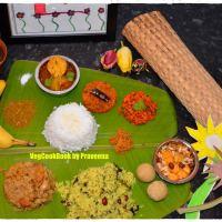 Makara Sankranthi Visesha Bhojanam / Festive Lunch -  2019