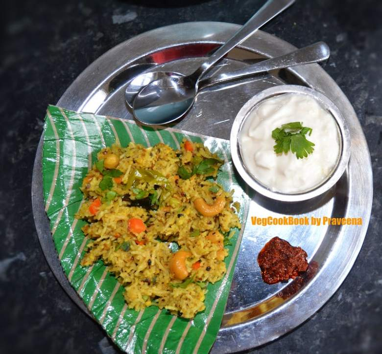 pulagam / one pot veg rice with lentils
