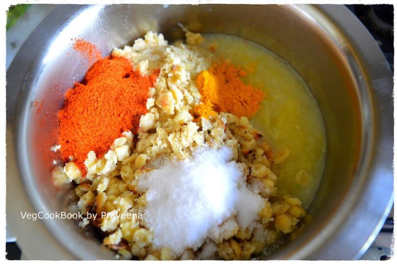 mamidikaya pappu / raw mango dal