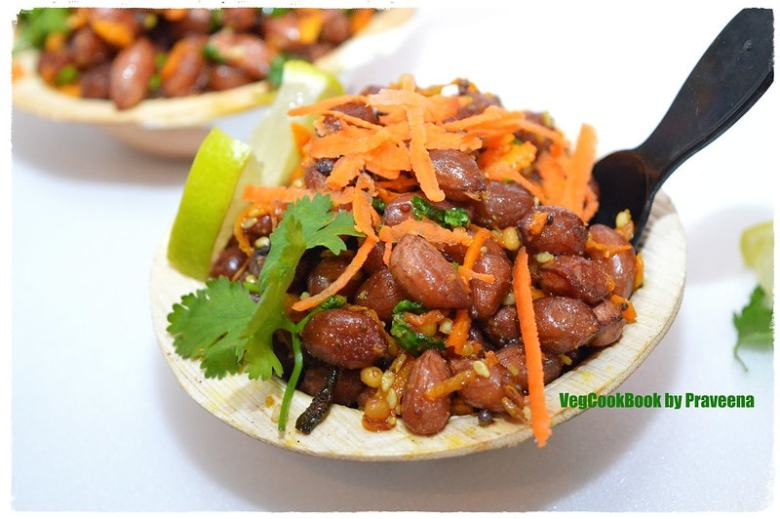 peanut salad (vegan & gf) / palli guggillu