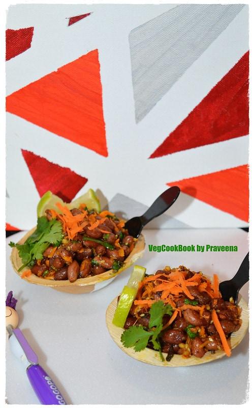 peanut salad / palli guggillu (vegan & gf)