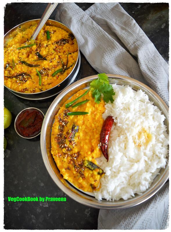 Nimmakaya Pappu / Lemon / Lime Dal
