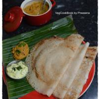 Puffed Rice Crepes / Murmura Dosa