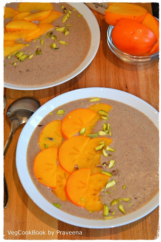 Ragi Porridge (Hot / Cold Breakfast)