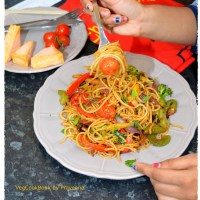 Chinese Stir Fry Veg & Noodles (Air Fryer, Stove Top)