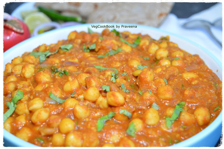 Chana Masala / Vegan Chickpea Stew (Instant Pot, Stove top)