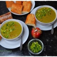 Broccoli & Corn Vegan Soup (Instant Pot / Stove top)