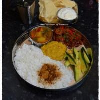 Bhojanam/Thali/Platter # 1