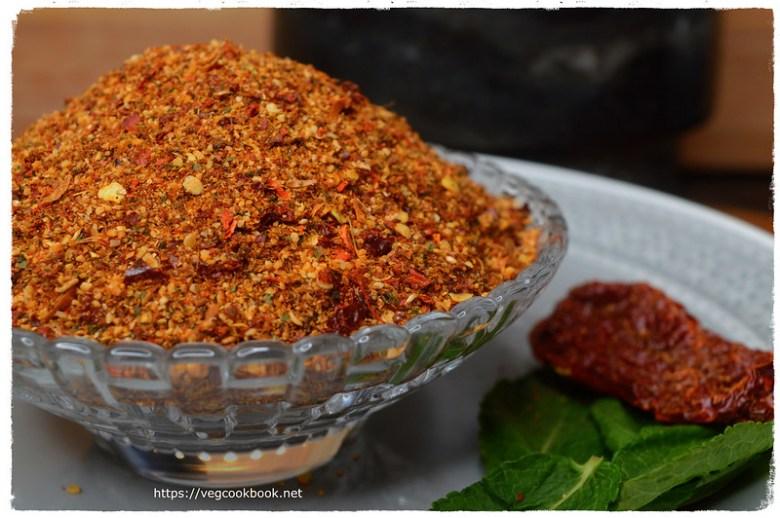 Mint Leaves Spice Powder / Pudina Karam Podi