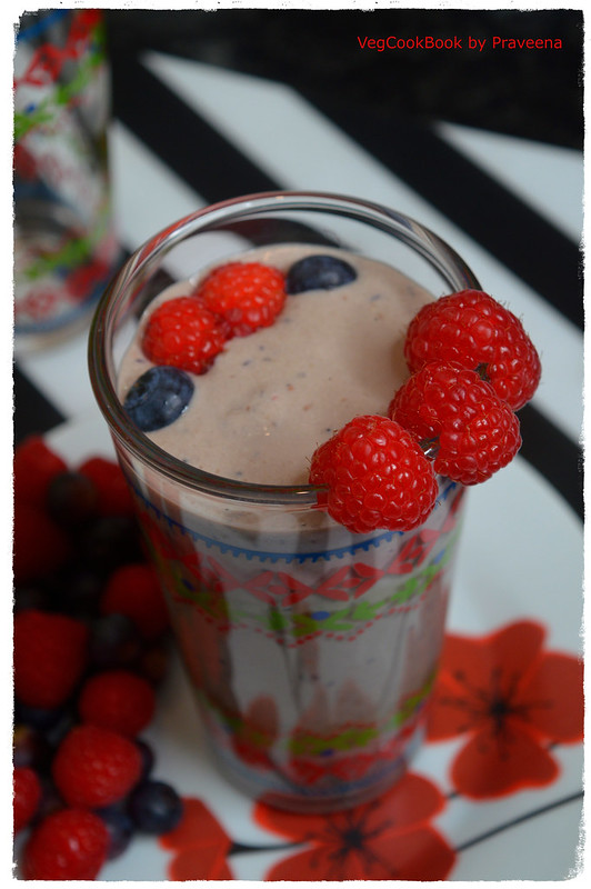 Very Berry Plant Based Smoothie
