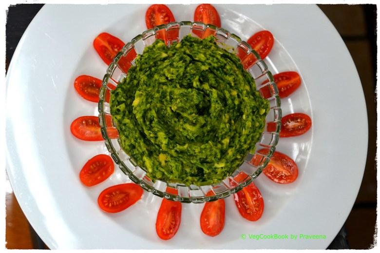Avocado & Spinach Spread (Oil Free)