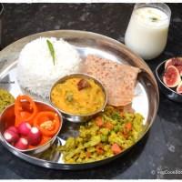 Bhojanam / Thali / Platter # 17