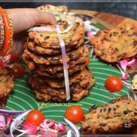 Maddur Vada (Air fryer / Baked Snack)